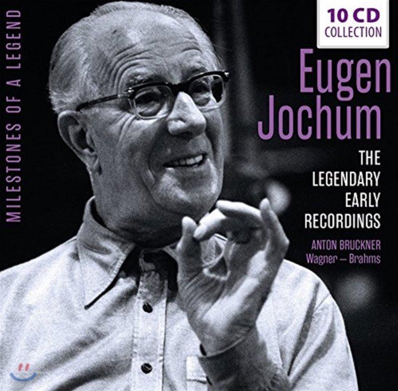 Eugen Jochum 오이겐 요훔 초기 레코딩집 - 브루크너: 교향곡 4, 5, 7, 8, 9번 / 바그너: 트리스탄과 이졸데, 탄호이저 서곡 외 (The Legendary Early Recordings)