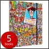 월리를 찾아라 원더 파일 5종 세트 : Where's Wally? The Wonder File 5 Books Set