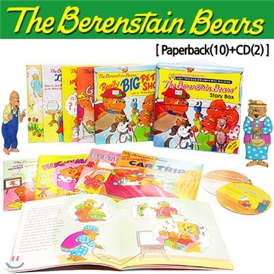 The Berenstain Bears 10종 Set (Paperback(10)+CD(2))