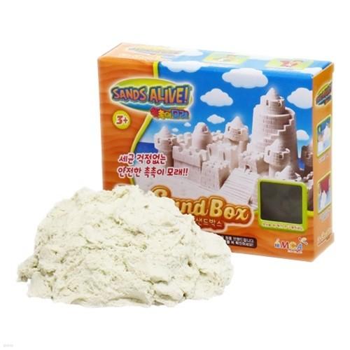 [34%특가]촉촉이모래 단품 450g 화이트