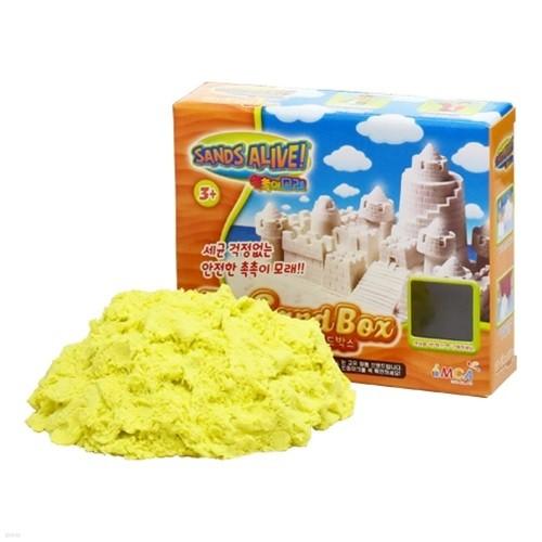[34%특가]촉촉이모래 단품 450g 옐로우