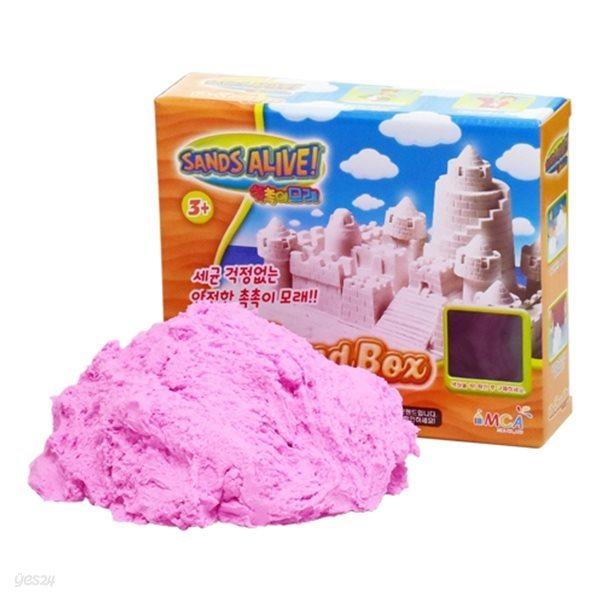 [34%특가]촉촉이모래 단품 450g 핑크