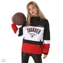 [NBA]OKC THRUNDER 3단블럭 아노락(N183JP152P)