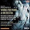 Gregor Buhl / Tatjana Blome 발터 브라운펠스: 피아노와 오케스트라를 위한 작품집 - 마녀의 축제, 헤브리디스의 춤 외 (Walter Braunfels: Works For Piano & Orchestra)