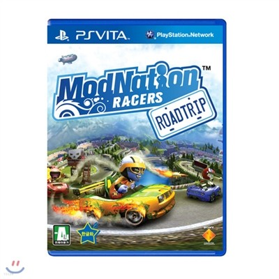 [PSVITA] 모드 네이션 레이서 : 로드 트립(ModNation Racers)