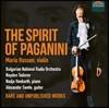 Mario Hossen 파가니니: 바이올린 협주곡 3번, 칸타빌레, 광시곡 24번 외 (The Spirit of Paganini)