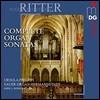 Ursula Philippi 어거스트 고트프리드 리터: 오르간 소나타 전곡 Op. 11, 19, 23, 31 (August Gottfried Ritter: Complete Organ Sonatas)