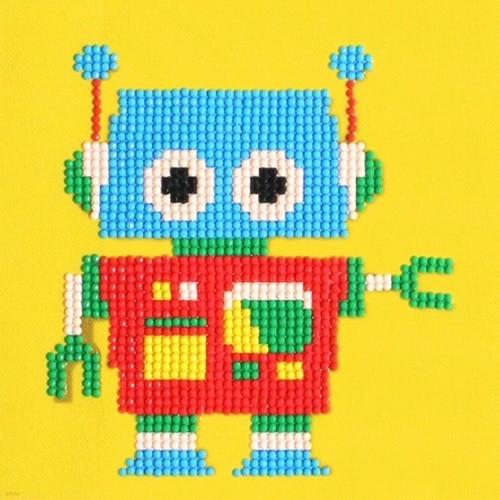 젬콕페인팅 보석십자수 로봇