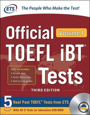 Official TOEFL iBT Tests vol. 1, 3/E