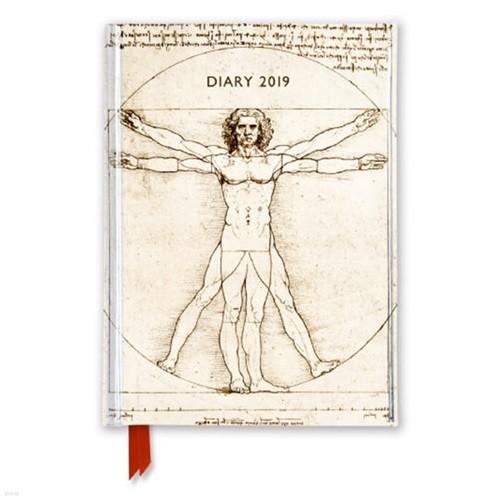 2019 다이어리 Leonardo da Vinci - Vitruvian Man