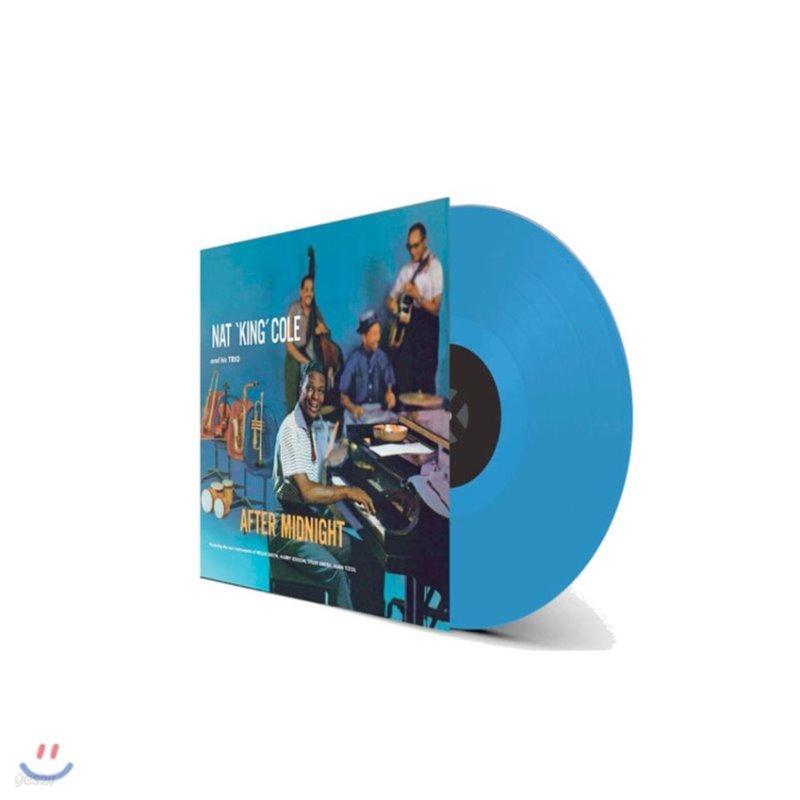 Nat King Cole (냇 킹 콜) - After Midnight [블루 컬러 LP]