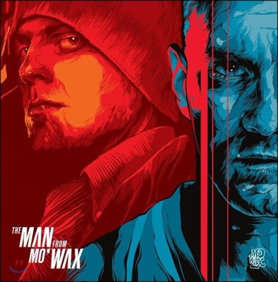 힙합 레이블 `더 맨 프롬 모'왁스` 다큐멘터리 영화음악 (The Man From Mo' Wax Soundtrack) [레드&블루 컬러 2LP]