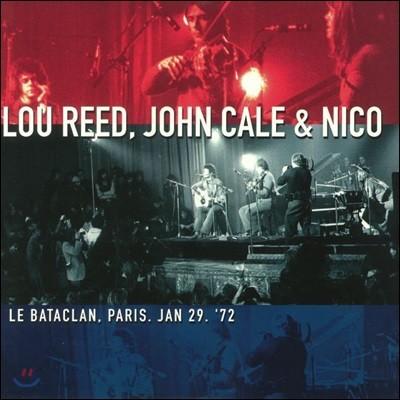 Lou Reed, John Cale & Nico (루 리드, 존 케일 앤 니코) - Le Bataclan, Paris, Jan 29 '72 [2 LP + DVD]