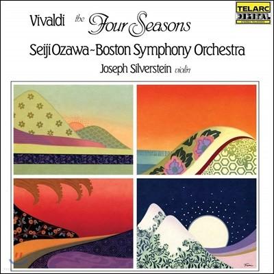 Seiji Ozawa / Joseph Silverstein 비발디: 사계 (Vivaldi: The Four Seasons) [LP]