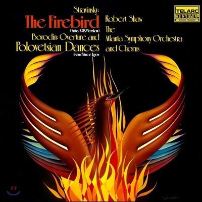 Robert Shaw 스트라빈스키: 발레음악 `불새` / 보로딘: 오페라 `이고르 공` 서곡 (Stravinsky: The Firebird / Borodin: Prince Igor) [LP]