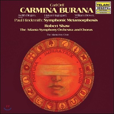 Robert Shaw 칼 오르프: 카르미나 부라나 (Orff: Carmina Burana) [2LP]
