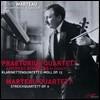 Praetorius Quartett 앙리 마르토: 클라리넷 오중주, 현악사중주 2번 (Henri Marteau: Clarinet Quintet, String Quartet No. 2)