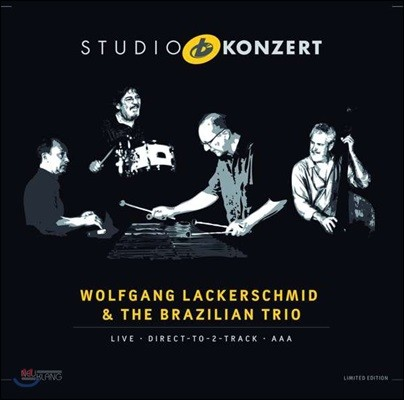 Wolfgang Lackerschmid & The Brazilian Trio - Studio Konzert [Limited Edition LP]