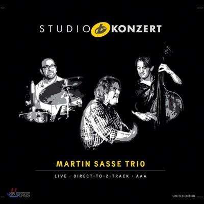 Martin Sasse Trio (마틴 사쓰 트리오) - Studio Konzert [Limited Edition LP]