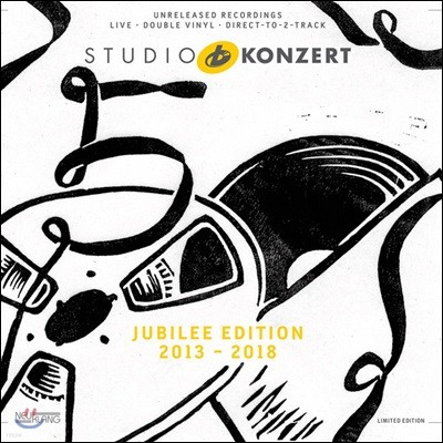 Jubilee Edition 2013-2018 Studio Konzert [Limited Edition 2 LP]