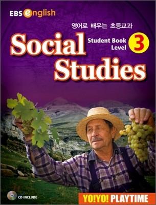 Yo! Yo! PlayTime Social Studies Student Book 3 (요요 플레이타임 사회)