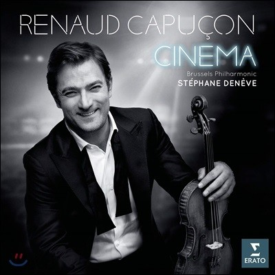 Renaud Capucon 르노 카퓌송 - 바이올린으로 연주한 영화음악 (Cinema) [LP]