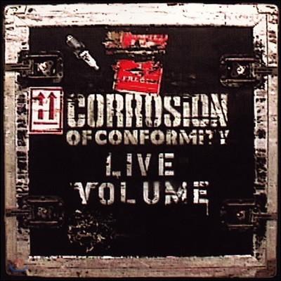 Corrosion Of Conformity (커로션 오브 컨퍼머티) - Live Volume [2 LP]