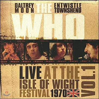 The Who (더 후) - Live At The Isle Of Wight Vol 1 [2 LP]