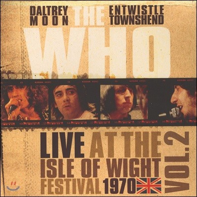 The Who (더 후) - Live At The Isle Of Wight Vol 2 [LP]