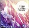 Frank Peter Zimmermann 베토벤: 바이올린 협주곡, 로망스 (Beethoven: Violin concerto, romances) 프랑크 페터 짐머만