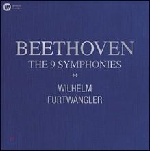 Wilhelm Furtwangler 베토벤: 교향곡 전곡 (Beethoven: The 9 Symphonies) 빌헬름 푸르트뱅글러 [10LP]