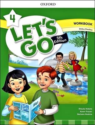 [5판]Let's Go 4 : Work Book with Online Practice