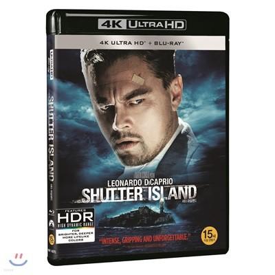 셔터 아일랜드 (2Disc 4K UHD+BD 한정수량) : 블루레이