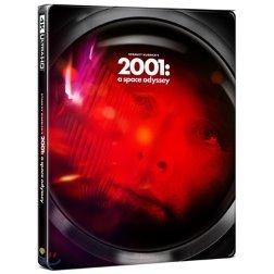 2001:스페이스 오디세이 (3Disc 4K UHD+BD 스틸북 한정수량) : 블루레이