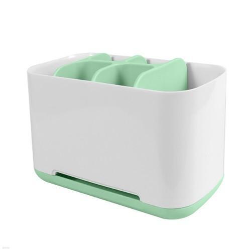 욕실 치약 칫솔 면도기 전동칫솔 6칸 정리함 creamy