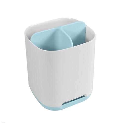 욕실 치약 칫솔 면도기 전동칫솔 3칸 정리함 creamy