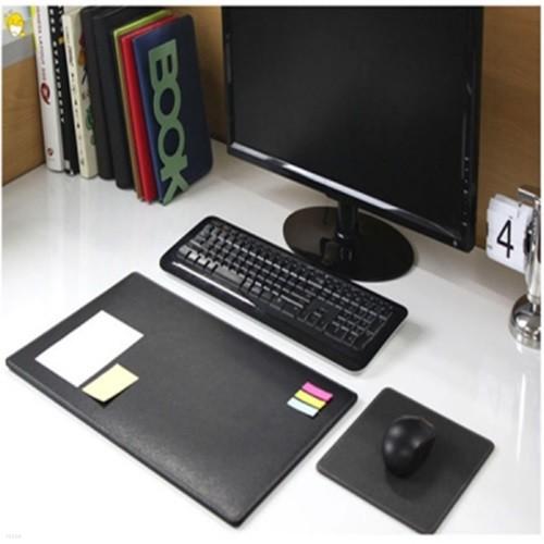 가죽 데스크매트미니세트 키보드 + 마우스패드