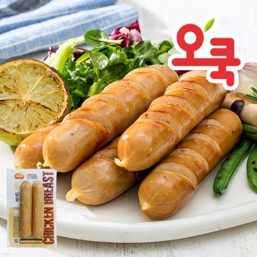 [오쿡] 간편한 닭가슴살 소시지/큐브 15+1팩