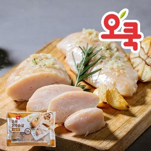 [오쿡] 닭가슴살 실속 혼합 1kg+1kg