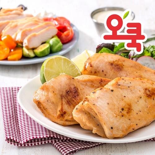 [오쿡] 닭가슴살 샐러드용 혼합 1.4kg + 1.4kg