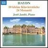 Jeno Jando 하이든 건반음악 작품집 (Haydn: 10 Kleine Klavierstucke, 24 Menuetti) 예노 얀도