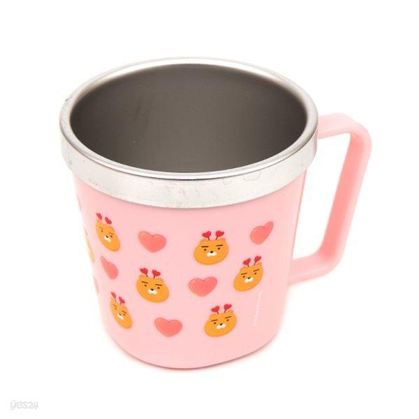 카카오프렌즈 컵 [러브이중홈카페스텐-KF2240]-라이언