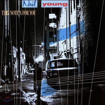 Neil Young (닐 영) / the Bluenotes - This Note's For You [LP]