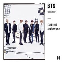 방탄소년단 (BTS) - Fake Love / Airplane Pt.2 (CD+DVD) (초회한정반 B)