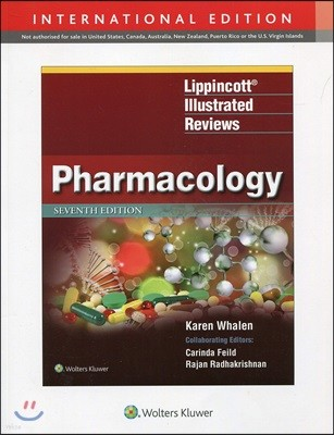Lippincott Illustrated Reviews: Pharmacology, 7/E