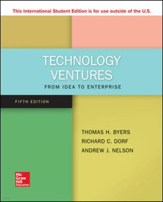 Technology Ventures, 5/E