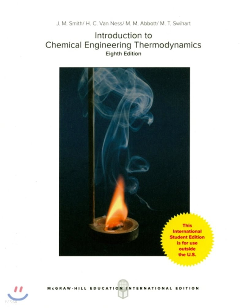 Introduction to Chemical Engineering Thermodynamics, 8/E