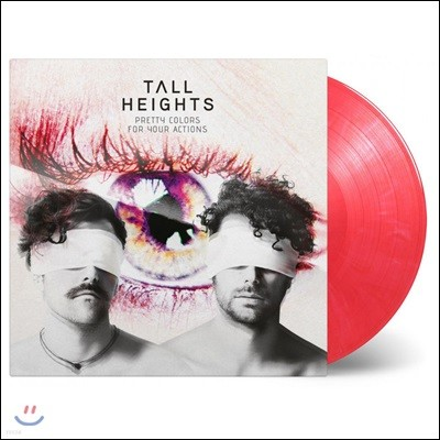 Tall Heights (톨 하이츠) - Pretty Colors For Your Actions [핑크 컬러 LP]