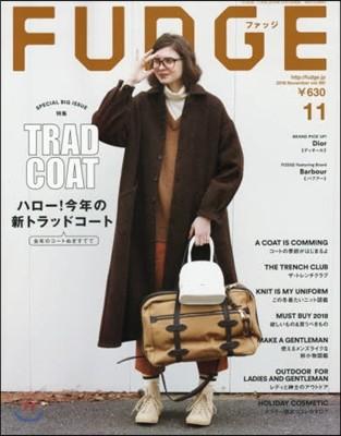 FUDGE(ファッジ) 2018年11月號