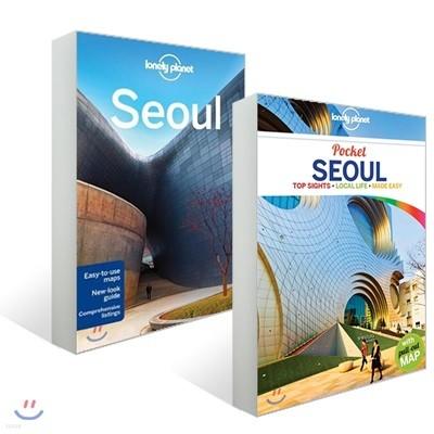 [에코백 증정] 론리플래닛 서울 가이드 & 포켓 서울 원서 2권 세트 : Lonely Planet Seoul & Pocket Seoul
